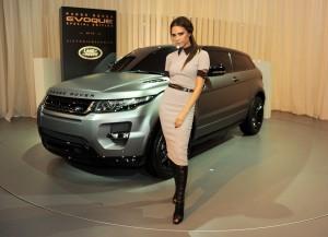 Victoria Beckham, Range Rover, Evoque, Edition spéciale, Pékin 2012