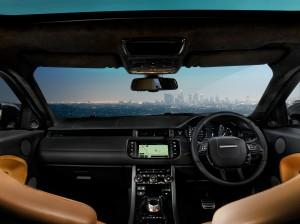 Range Rover Evoque, Victoria Beckham, salon pékin 2012, intérieur, sexy
