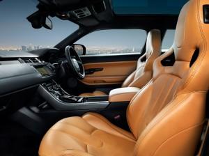 Range Rover Evoque, Victoria Beckham, sellerie, luxe, Pékin 2012