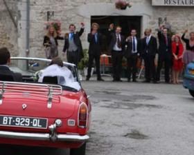 MG, voiture, mariage, amour, glamour, voiture de femme, voiture de mariage, wedding