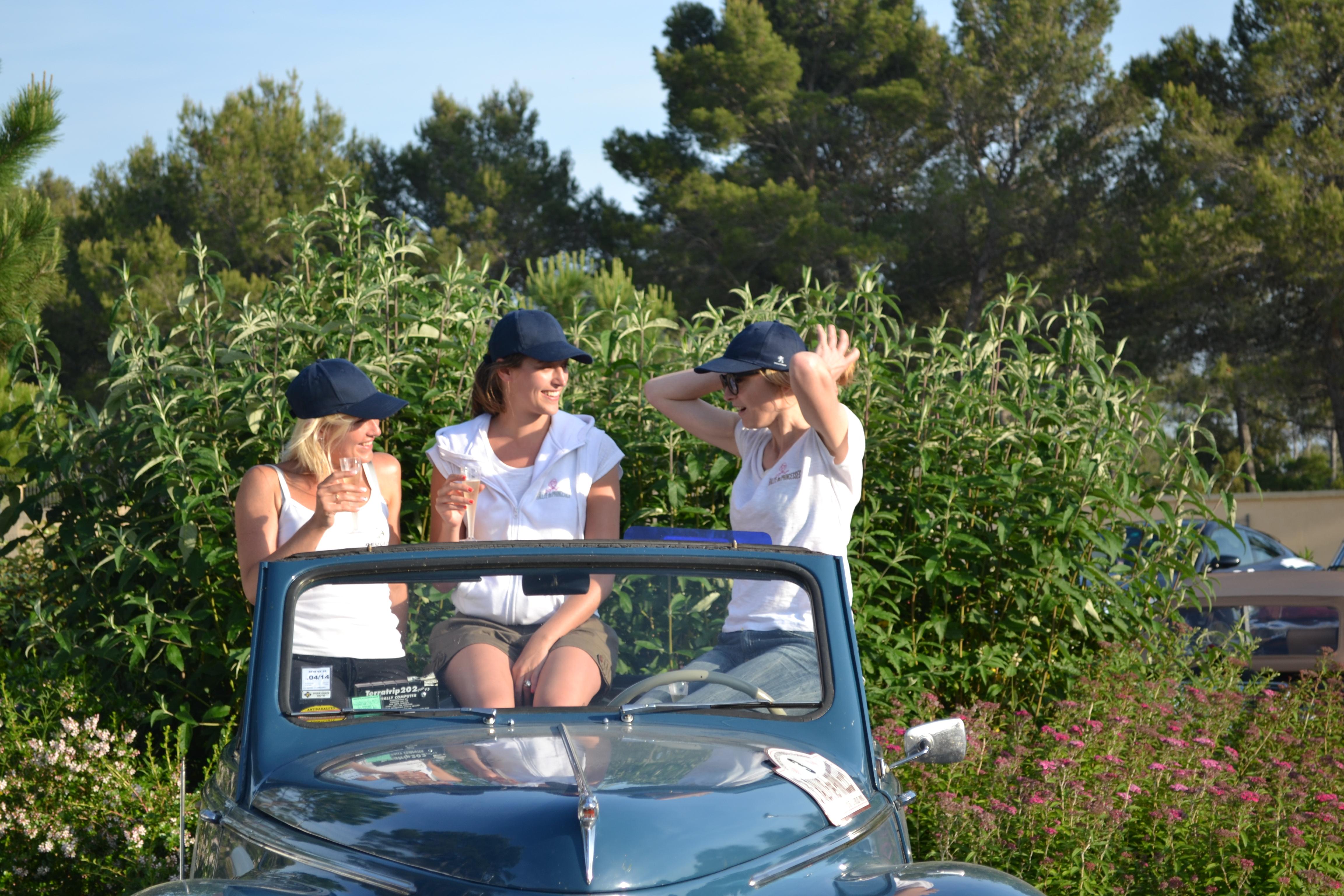 Julie Gayet, Rallye des Princesses, régularité, stars, Monaco
