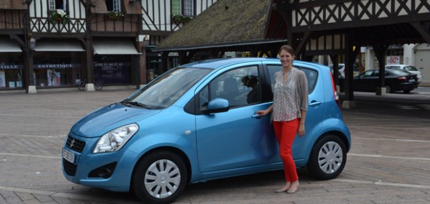 Suzuki, Swift, Splash, Little Marcel, Deauville, hôtel Normandy, mode