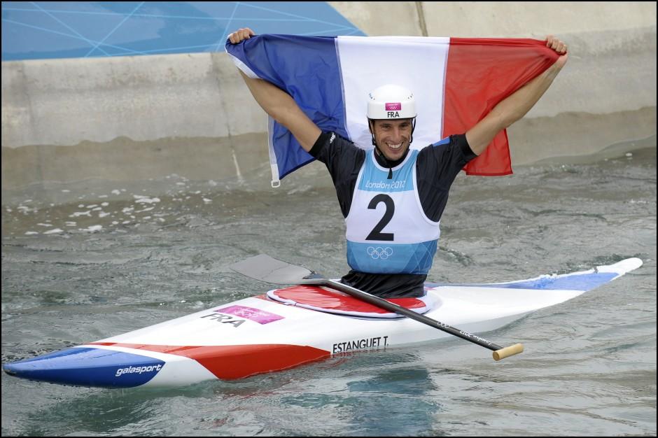 Tony estanguet, médaille d'or, JO 2012, canoé kayak, playlist, deezer