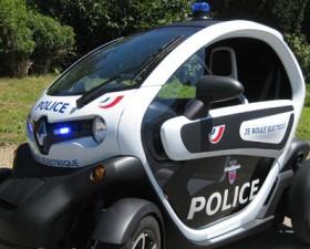 Renault, Twizy, Police, Pompier, test, patrouille, électrique