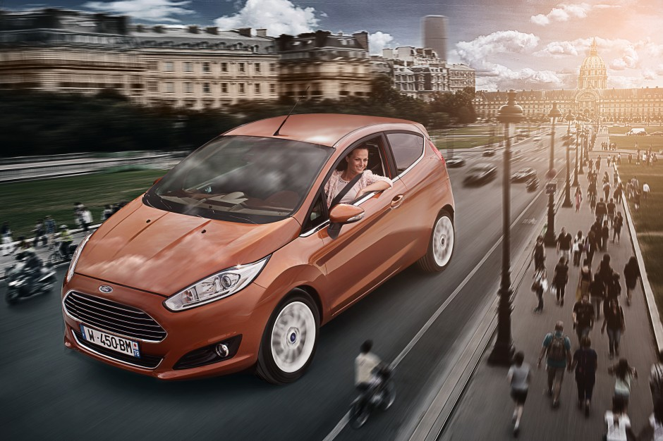 Ford, Fiesta, paris, design, photo, sexy