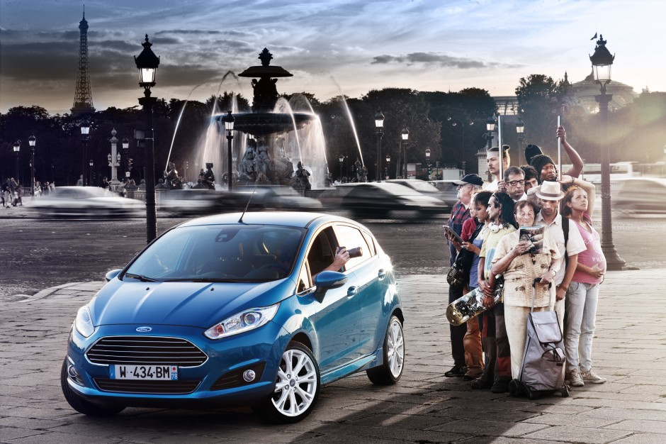 Ford, Fiesta, photo, design, technologie, amsterdam