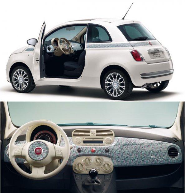 Fiat, Fiat 500, Fiat 500 Liberty, citadine, voiture italienne, série spéciale