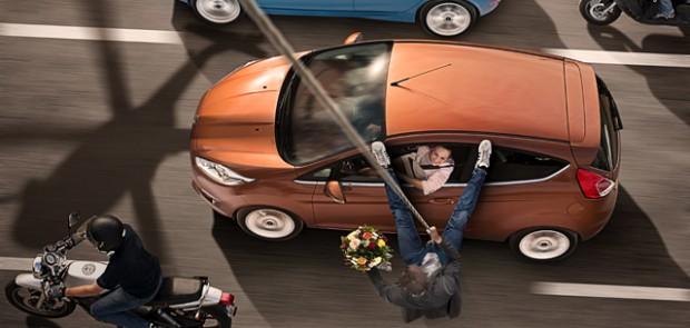 Ford, Fiesta, demande en mariage, romantique, photo