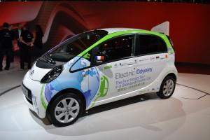 Citroën, C-Zero, odessey electric, stand, mondial de l'auto 2012
