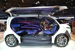 paris 2012, mondial de l'auto, Citroën, concept, véhicule électrique, Tubik