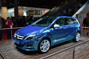 Paris 2012, Mondial de l'auto, véhicule électrique, electric drive, Mercedes, classe B