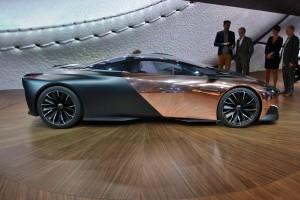 Peugeot, concept onyx, mondial 2012, concept, PSA, aulnay