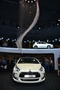 Citroën, DS5, glamour, mondial de l'automobile 2012, stand, cristal