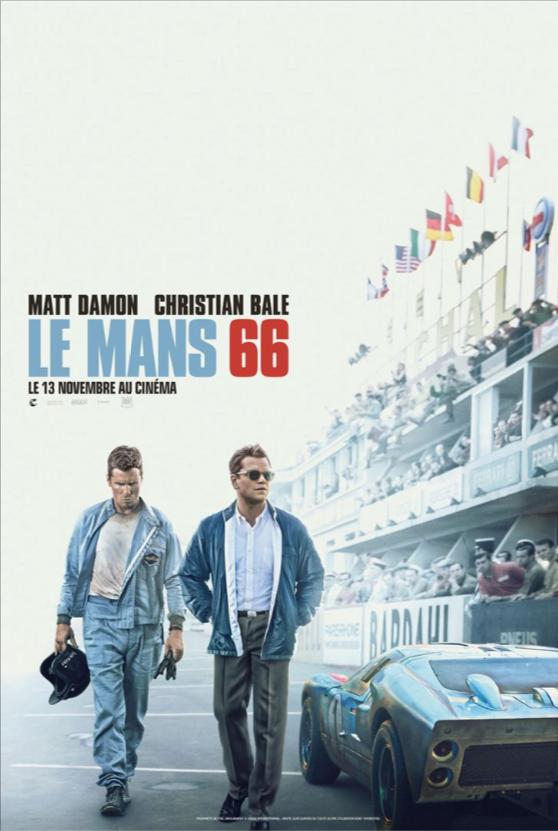 Le Mans 66, film, cinema, Ford, Ferrari, Ford GT40, Matt Damon, Christian Bayle, 24 Heures du Mans