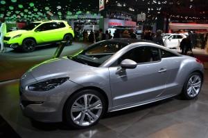 Peugeot, RCZ, mondiale de l'automobile, 2012, visite du stand, restructuration, PSA