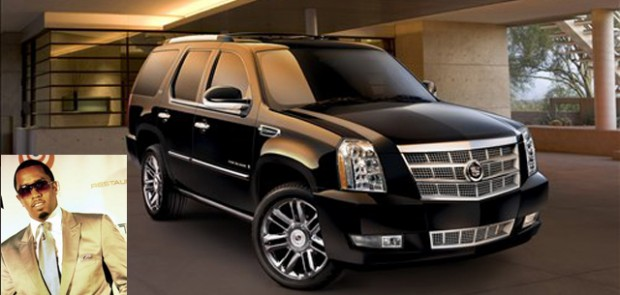 P.Diddy, puff daddy, rappeur, cadillac escalade, accident, cassie, lexus RS