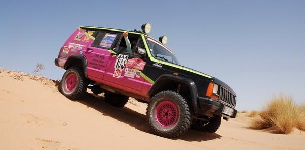 cap femina aventure, rallye féminin, automobile et femmes, rallye raid, maroc