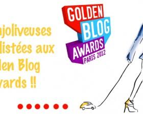 golden blog awards, concours, les enjoliveuses, clémence de Bernis, Anne-Charlotte Laugier, Auto-moto, nomination