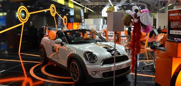 mondial 2012, salon de l auto 2012, Paris 2012, sixt, humour, radar, sexy