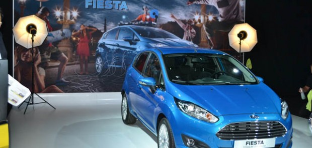 Ford, Fiesta, paris 2012, mondial de l'auto 2012, stand, studio photo, Dingo