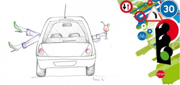 sécurité routière, accident, route de france, campagne d'affichage, 2012