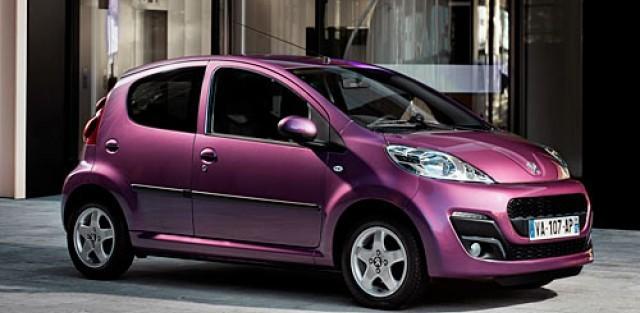 Peugeot 107 Envy, Peugeot, 107 Envy, voiture de femme, mécanique, vernis à ongle, prune