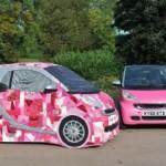 Smart, Fortwo, Pink passion, edition spéciale, cancer, cancer du sein, voiture de femme