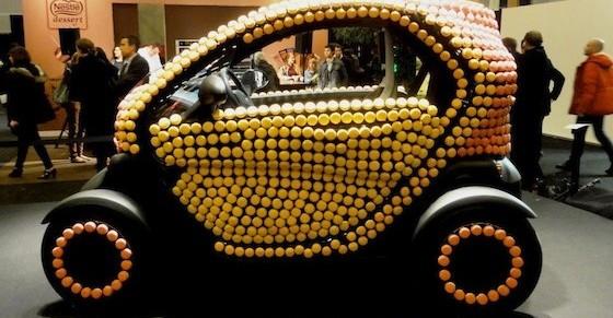 renault twizy, pierre hermé, macarons, chocolat, voiture de femme