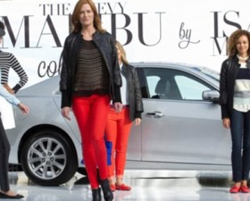 chevrolet malibu, issac Mizrahi, luxe, mode, collection, 2012