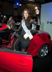 Miss France, Miss France 2011, laury thilleman, peugeot, RCZ, trophée andros