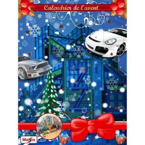 calendrier de l'avent, fête, noel, idée cadeau, pas cher, original, voiture, femme, nouvel an