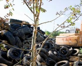 recyvalor, pneu, mobivia, mobivia groupe, recyclage, revalorisation, décharge