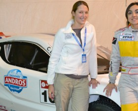 charlotte Berton, trophée andros, trophée andros électrique, course, rallye, rallye sur glace
