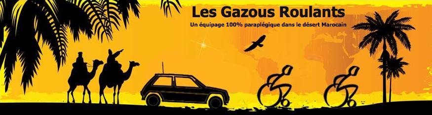 gazous roulants, maroc, rallye, raid, paraplégique, fauteuil roulant, rallye auto, super5 raid, cap vers