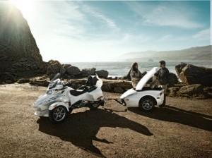 Can-Am Spyder, spyder, Spyder RT, Spyder RS, moto, moto 3 roues, moto femme