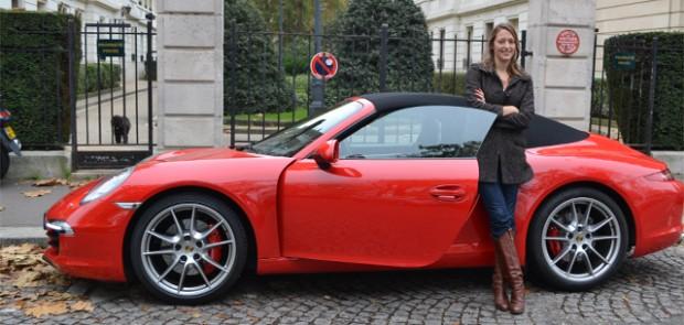 porsche, 911, carrera, 911 carrera S, cabriolet, luxe, sportive, clémence de bernis, voiture femme
