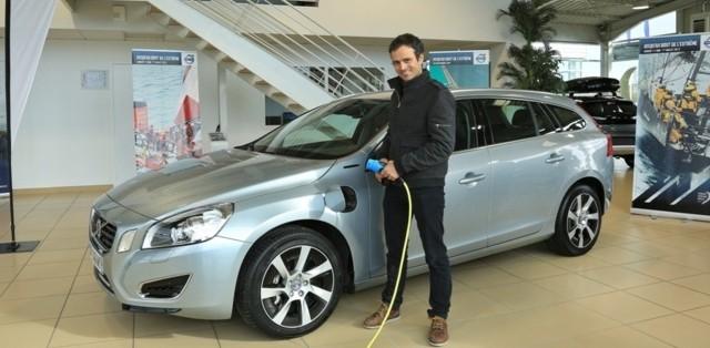Franck Cammas, volvo, V60, hybride, volvo ocean race, navigateur, ambassadeur