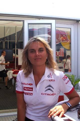 Marie Pierre Rossi, sébastien loeb, citroën, wrc, citroen racing, rallye, rallye auto, interview