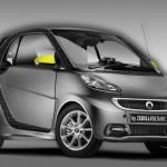 Smart, fortwo, zadig & voltaire, édition spéciale, mode, voiture de femme, citadine