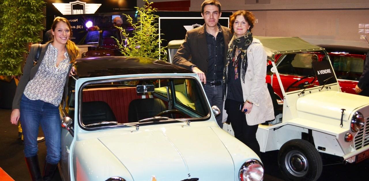 gregory galiffi, D8 animateur TV, TV, animateur, rétromobile, salon, salon auto, porte de versailles, vieille voiture, mini