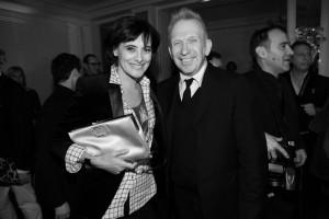 Inès de la Fressange, Jean-Paul Gaultier, Renault, sidaction, diner de gala, sida, mode, luxe, solidarité