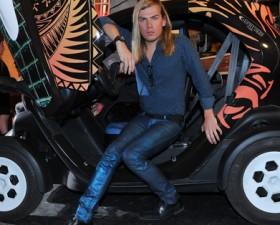 Christophe Guillarmé, renault, twizy, renault twizy, voiture électrique, Z.E, voiture de femme