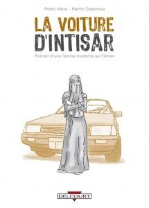 voiture d'Intisar, yémen, femme, voiture de femme, BD, lutte, espérance, Corolla 84
