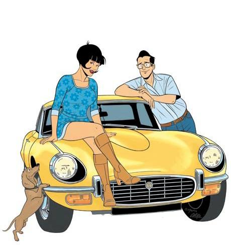 BD, les enquêtes auto de margot, collection calandre, voiture, femme, voiture femme, journaliste auto, BD auto