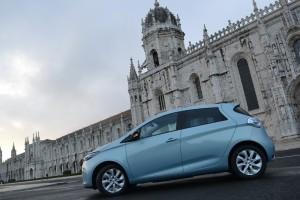 Renault, zoe, électrique, écologique, essai, portugal, lisbonne, voiture électrique, citadine, compact, berline, berline compact