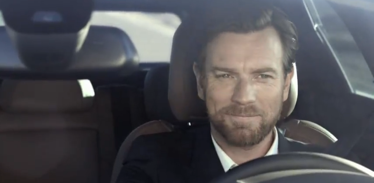Ewan McGregor, Citroen, DS5, hybrid, diesel, acteur, star, US, pub, berline, voiture femme