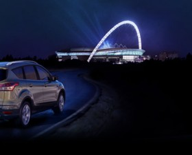 ford kuga, ford, kuga, champions league, suv, compact, concours, billets, foot, football, voiture