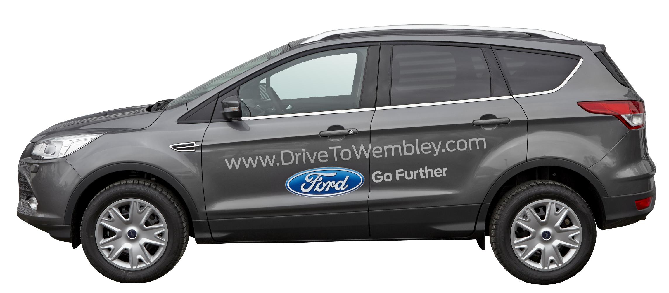 Ford Kuga, ligue des champions, champions league, Ford, kuga, wembley, concours, foot, football, SUV, compact