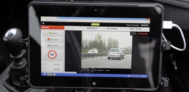 radar, radar embarqué, flash, sécurité, sécurité routière, excès de vitesse