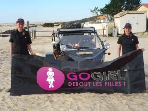 rallye des gazelles, rallye, raid, GoGirl, pipi debout, team cap dunes, équipage, désert, maroc, femme, voiture femme